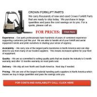 Buy cheap Crown Forklift Part from wholesalers