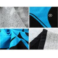 Buy cheap beach towel super absorbent wholesale customized reactive printing beach towel from wholesalers