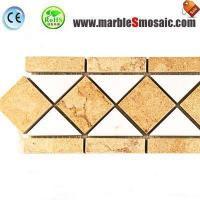 Buy cheap Yellow Marble Border Tile from wholesalers