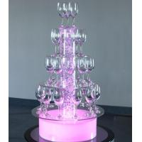 Buy cheap LED bubble wine rack from wholesalers