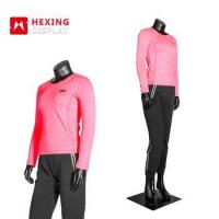 Buy cheap Flexible Full Body Sports FRP Material Standing Female Mannequin from wholesalers