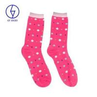 Buy cheap Wholesale china knitted custom printed women fashion socks from wholesalers