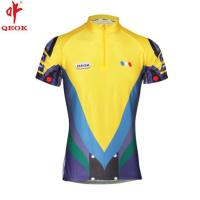 Buy cheap Bicycle clothing custom wholesale blue cycling jersey from wholesalers