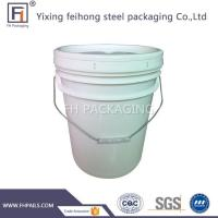Buy cheap 20L Plastic Bucket with Lids from wholesalers