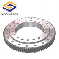 Buy cheap Small Single Row Ball With External Gear Slewing Ring Bearing For Crane from wholesalers