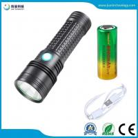 Buy cheap JFF67 L2 10W 18650 26650 USB Charging outdoor 5 mode LED flashlight from wholesalers