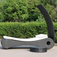 Buy cheap Good Quality Outdoor Poly Rattan Sun Lounger from wholesalers