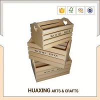 Buy cheap Low price wooden storage basket for toy storage from wholesalers
