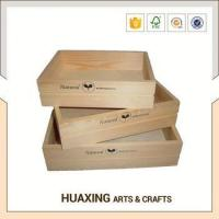 Buy cheap Modern style wooden storage basket for transportation from wholesalers