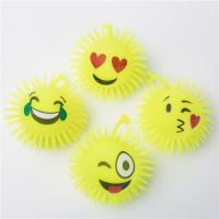 Buy cheap Flashing YOYO Smile Face Puffer Ball from wholesalers