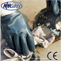 Buy cheap NMSAFETY EN388 4111 oil resistant nitrile glove Heavy duty NBR working glove high quality from wholesalers