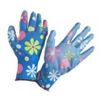 Buy cheap NMSAFETY EN388:2016 3121X polyester coated pu women gardening gloves from wholesalers