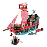 Buy cheap Wooden Pirate Ship Toy from wholesalers