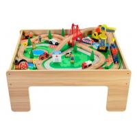 Buy cheap Wooden Train Table from wholesalers