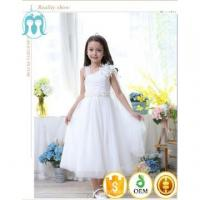 Buy cheap 2017 hot fancy children bow wedding dress party white dresses special occasion girls' from wholesalers