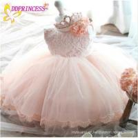 Buy cheap Wholesalers price ivory princess kids lace flower girl dress patterns girl party wear western from wholesalers