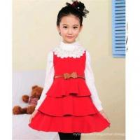 Buy cheap high quality latest children frocks designs children winter dress from wholesalers