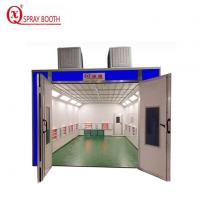 Buy cheap Full Downdraft Paint Booth from wholesalers
