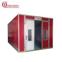 Buy cheap Infrared Heat Spray Paint Booth from wholesalers