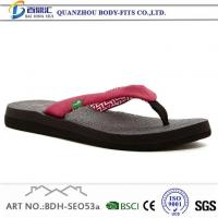 Buy cheap Red Summer House Slippers Shoes for Womens from wholesalers
