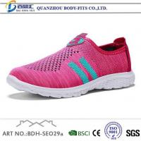 Buy cheap White Athletic Shoes Womens Grey and Pink Casual Running Sneakers from wholesalers