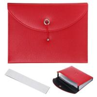 Buy cheap Expanding PU Leather Document Holder from wholesalers