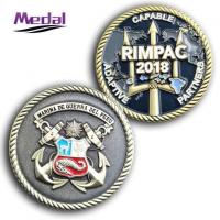 Metal Enamelled Challenge Coin