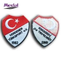Buy cheap Embroidery Patch Woven Badge Emblem from wholesalers