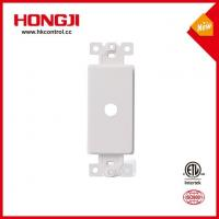 Buy cheap White 1 Gang Plastic Dimmer Plastic Shaft Adapter 0.406 Dia. Hole from wholesalers