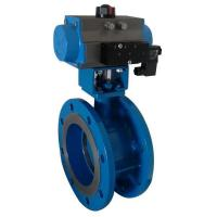 Buy cheap Butterfly Valve Pneumatic Butterfly Valve with Solenoid Valve from wholesalers