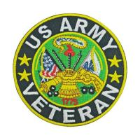 Buy cheap Veteran Patch US Army Military Badge Sew on Iron on from wholesalers