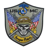 Buy cheap US MC Amry Mini Size Patch from wholesalers