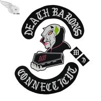 Buy cheap DEATH BARONS MC Logo Patch from wholesalers