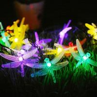 Buy cheap Low Voltage String Lights Low Voltage LED Dragonfly String Lights from wholesalers