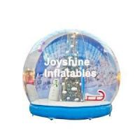 Buy cheap Inflatable Christmas Snow Globe product