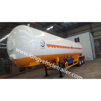 Buy cheap Pressure Vessel Liquid Propane Tank Trailer from wholesalers