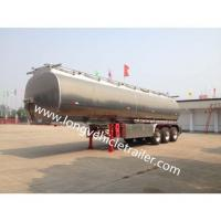 Buy cheap Tank Trailer Alcoa Aluminum Alloy Fuel Tank Trailer from wholesalers