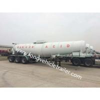 Buy cheap Tank Trailer Acid Tank Trailer for 98% Sulfuric Acid from wholesalers