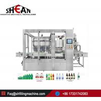 Buy cheap China Factory Automatic Carbonated Drinks Glass Bottle Filling Machine Price SH-PB-168 from wholesalers