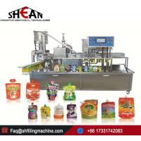Buy cheap China Supplier Automatic Stand Up Pouch Capping Machine Sachet Filling Machine for Juice from wholesalers