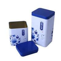 Buy cheap Rectangle Tea Gift Sets and Tin Tea Box from wholesalers