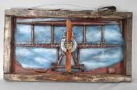 Buy cheap craft crafts Frame W/German fighterRed Baronworld war I from wholesalers
