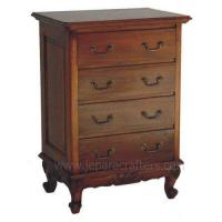 Buy cheap Scroll Mahogany Chest Victorian 4 Drawers MHBS009 from wholesalers