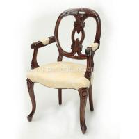 Buy cheap Scroll Mahogany Viola carver Armchairs MH-CH019 product