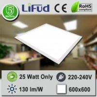 Buy cheap 130 lm/W 25W 600X600 LED Flat Panel 5 Years Lifetime Lifud Driver from wholesalers