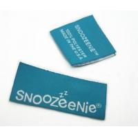 Buy cheap Personalized woven labels folding woven labels factory from wholesalers