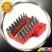 Buy cheap HandTools 33Pcs Security Star Torx Screwdriver Bit Set Kit + Magnetic Drill Holder Hex Key from wholesalers