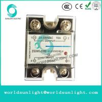 Buy cheap ZG3NC-316B SSR-16DA 16A 3-32VDC INPUT 24-480VAC OUTPUT dc to ac ssr solid state relay from wholesalers