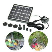 Buy cheap Brushless DC Solar Water Pump Power Panel Kit Fountain Pool Garden Watering Pumb from wholesalers