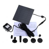 Buy cheap Mini Solar Water Pump Power Panel Kit Fountain Pool Garden Pond Submersible Watering from wholesalers